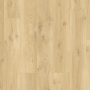 Виниловый влагостойкий ламинат (замковая плитка ПВХ) Quick-Step Balance Click BACL40018 Бежевый дуб