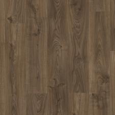 Виниловый влагостойкий ламинат (замковая плитка ПВХ) Quick-Step Balance Click BACL40027 Дуб коттедж тёмно-коричневый