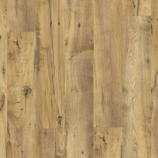 Виниловый влагостойкий ламинат (замковая плитка ПВХ) Quick-Step Balance Click BACL40029 Каштан винтажный натуральный