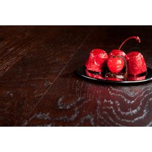 Паркетная доска Barlinek Вкусы Жизни Дуб Cherry Chocolate брашированный трехполосный в Красноярске