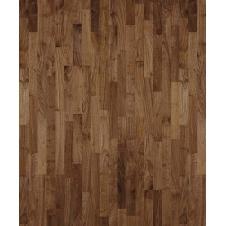 Паркетная доска Karelia Duo Wood Орех Селект трехполосный
