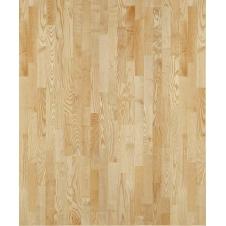 Паркетная доска Karelia Duo Wood Ясень Натур трехполосный