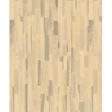 Паркетная доска Karelia Duo Wood Ясень Полар Ванилла Матт трехполосный