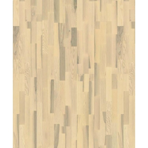 Паркетная доска Karelia Duo Wood Ясень Полар Ванилла Матт трехполосный в Красноярске