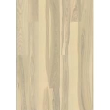 Паркетная доска Karelia Ясень Ясень Полар Ванилла Матт однополосный 138 мм