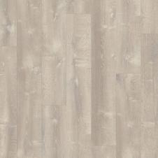 Виниловый влагостойкий ламинат (замковая плитка ПВХ) Quick-Step Pulse Click PUCL40083 Дуб песчаный теплый серый
