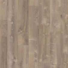 Виниловый влагостойкий ламинат (замковая плитка ПВХ) Quick-Step Pulse Click PUCL40086 Дуб песчаный теплый коричневый