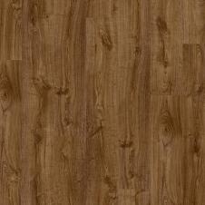 Виниловый влагостойкий ламинат (замковая плитка ПВХ) Quick-Step Pulse Click PUCL40090 Дуб осенний коричневый