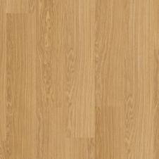 Виниловый влагостойкий ламинат (замковая плитка ПВХ) Quick-Step Pulse Click PUCL40098 Дуб чистый медовый