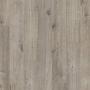 Виниловый влагостойкий ламинат (замковая плитка ПВХ) Quick-Step Pulse Click PUCL40106 Дуб хлопковый темно-серый пилёный